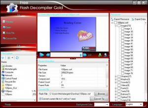 Enlarge Flash Decompiler Gold Screenshot