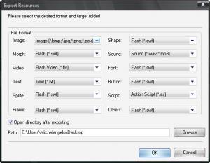 Enlarge Flash Decompiler Gold Screenshot
