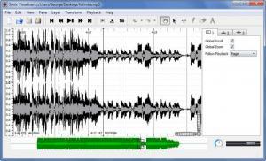 Enlarge Sonic Visualiser Screenshot