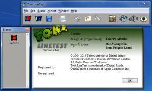 Enlarge TOKI LineTest Screenshot