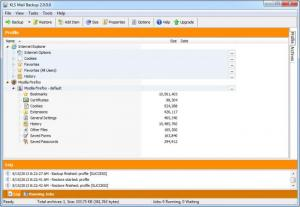 Enlarge KLS Mail Backup Screenshot