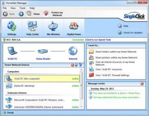 Enlarge HomeNet Manager Screenshot