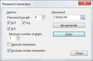 Enlarge Efficient Password Manager Free Screenshot