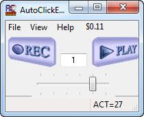 Enlarge AutoClickExtreme Screenshot