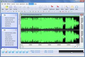 Enlarge WaveMax Sound Editor Screenshot