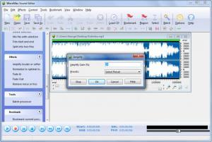 Enlarge WaveMax Sound Editor Screenshot