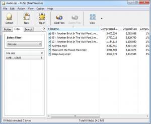 Enlarge ALZip Screenshot