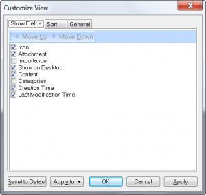 Enlarge Efficient Sticky Notes Free Screenshot