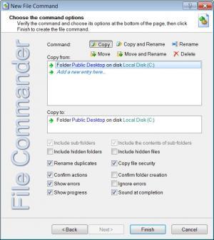 Enlarge File Commander Screenshot