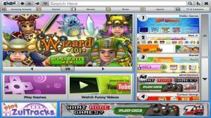 Enlarge KidZui Browser Screenshot