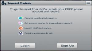 Enlarge KidZui Browser Screenshot