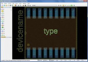 Enlarge LayoutEditor Screenshot