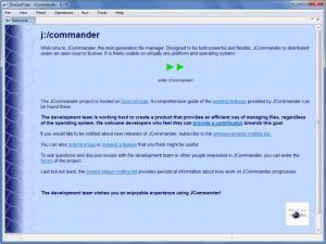 Enlarge JCommander Screenshot