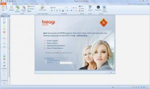 Enlarge Bizagi Process Modeler Screenshot