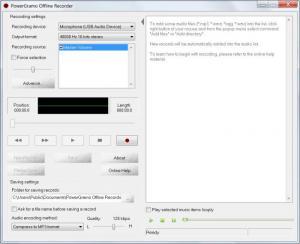 Enlarge PowerGramo Pro Screenshot