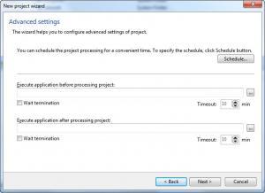 Enlarge AceBackup Screenshot