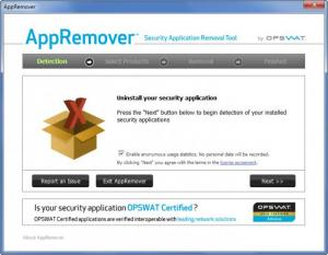 Enlarge AppRemover Screenshot