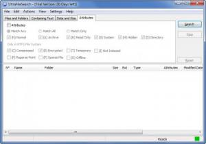 Enlarge UltraFileSearch Screenshot