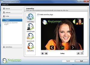 Enlarge KeyLemon Screenshot