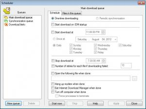 Enlarge Internet Download Manager Screenshot