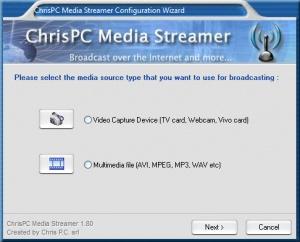Enlarge ChrisPC Media Streamer Screenshot