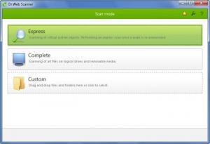Enlarge Dr.Web Security Space Screenshot