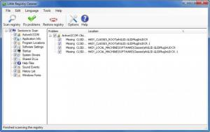 Enlarge Little Registry Cleaner Screenshot