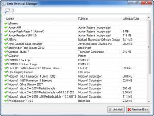 Enlarge Little Registry Cleaner Screenshot