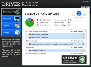 Enlarge Driver Robot Screenshot