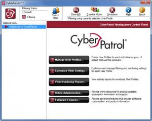 Enlarge CyberPatrol Screenshot