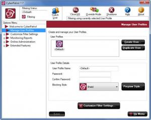 Enlarge CyberPatrol Screenshot