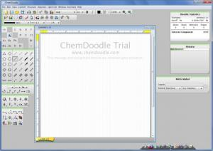 Enlarge ChemDoodle Screenshot