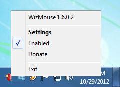 Enlarge WizMouse Screenshot