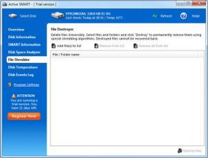 Enlarge Active SMART Screenshot