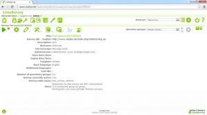 Enlarge LimeSurvey Screenshot