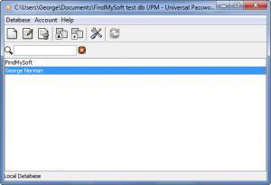 Enlarge Universal Password Manager Screenshot