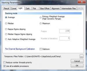 Enlarge DeepSkyStacker Screenshot