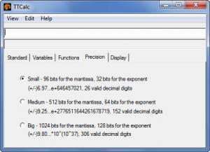 Enlarge TTCalc Screenshot