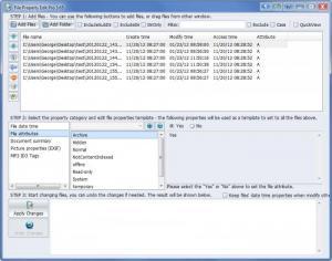 Enlarge File Property Edit Pro Screenshot