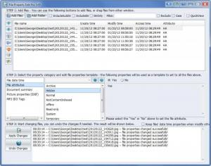Enlarge File Property Edit Pro Screenshot