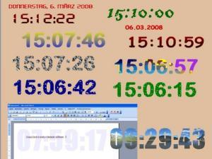 Enlarge CrazyClock Screenshot