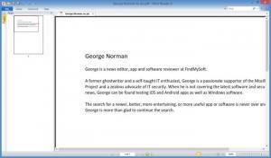Enlarge Nitro PDF Reader Screenshot