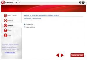 Enlarge RestoreIT Screenshot