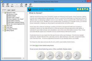 Enlarge Horas Screenshot