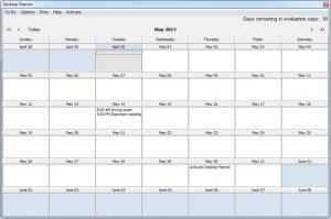 Enlarge Desktop Planner Screenshot