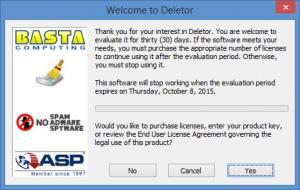 Enlarge Deletor Screenshot