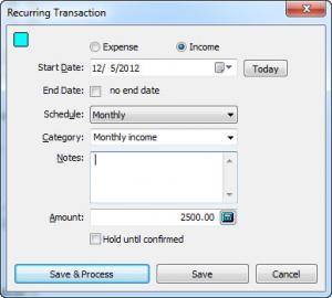 Enlarge Simple Home Budget Screenshot