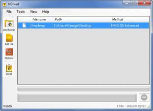 Enlarge NShred Screenshot