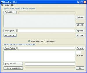 Enlarge Minos Zip Screenshot