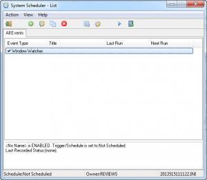 Enlarge System Scheduler Free Screenshot